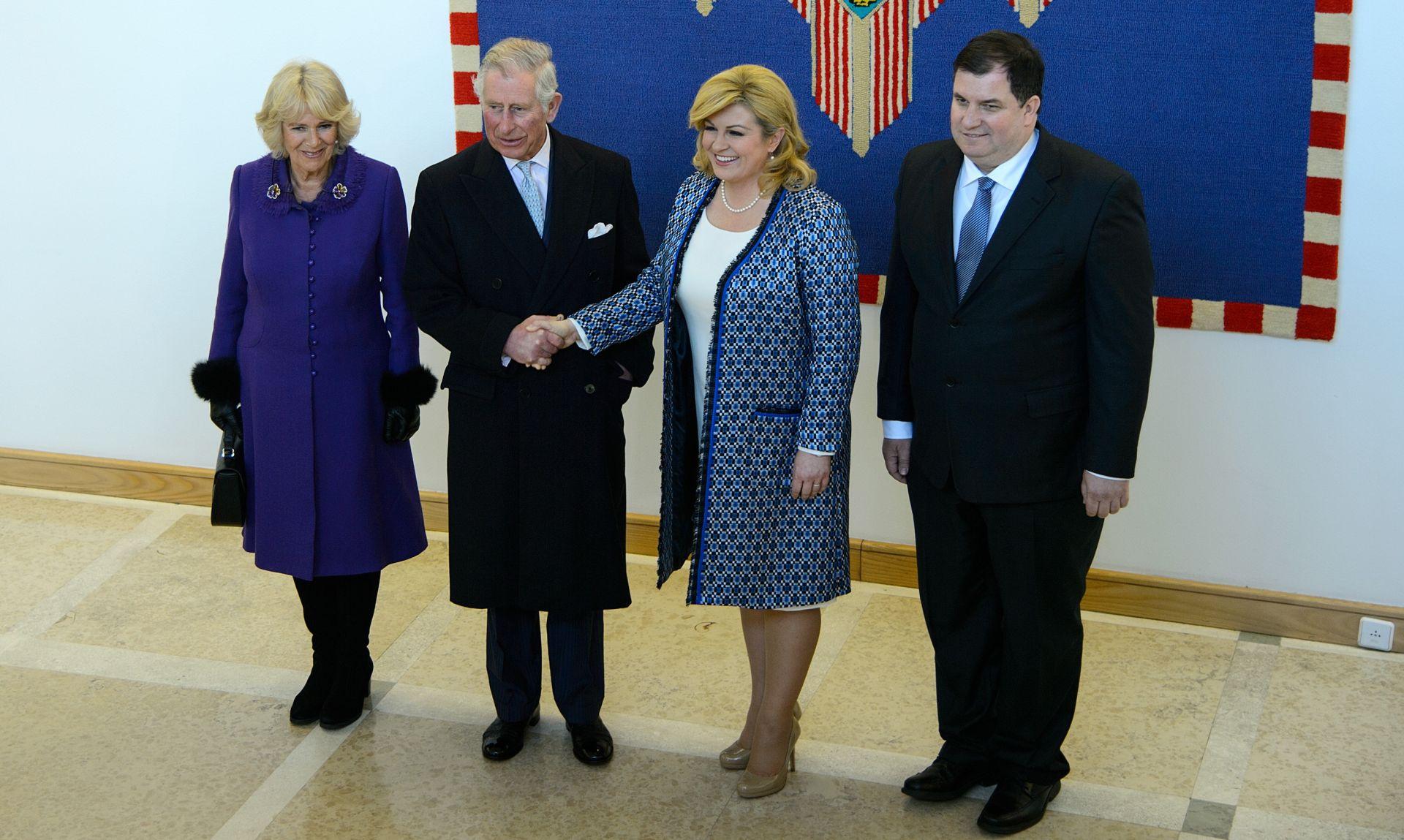 UŽIVO: Princ Charles i Camilla u Zagrebu