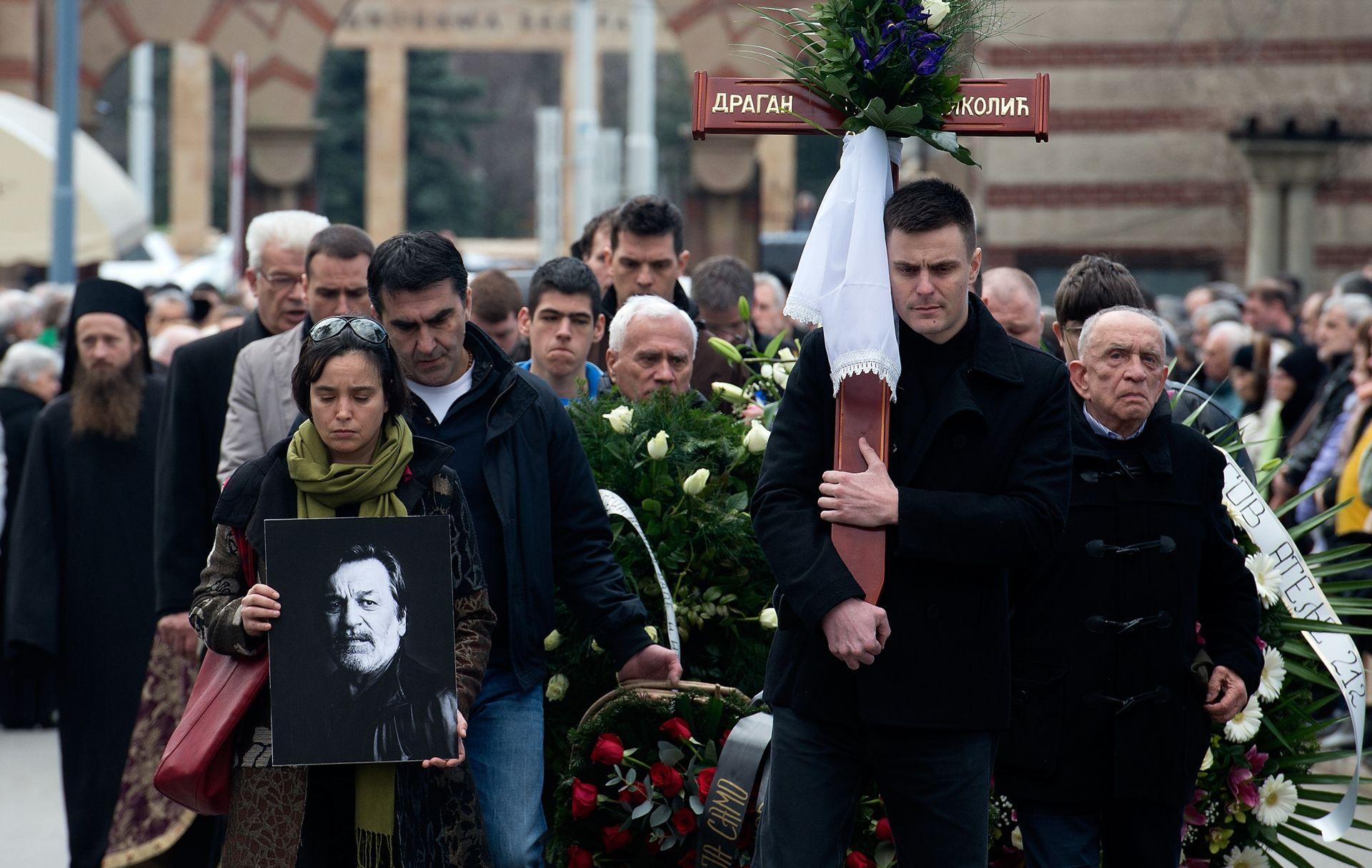 POKOP U BEOGRADU Srbija i regija odale posljednju počast glumcu Draganu Nikoliću