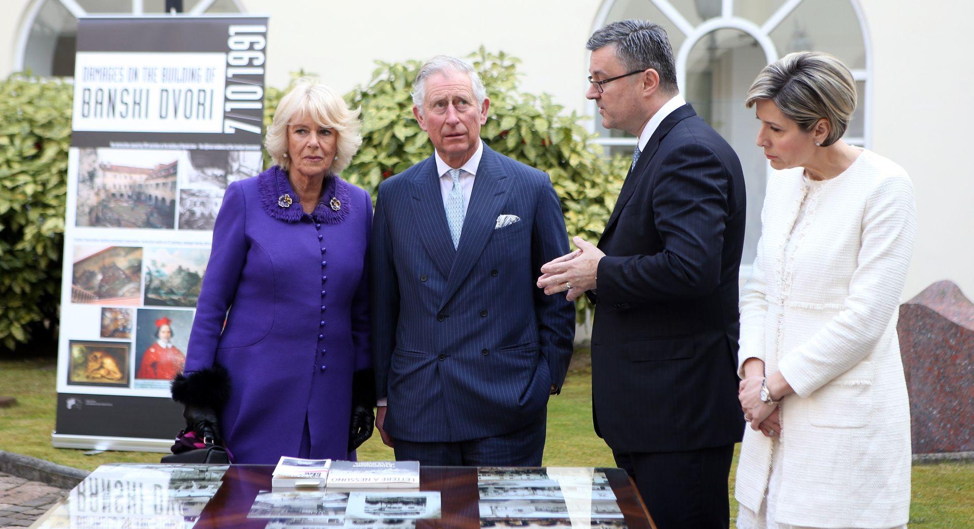 Premijer s princom Charlesom io promoviranju i nastavku dobrih odnosa Hrvatske i UK