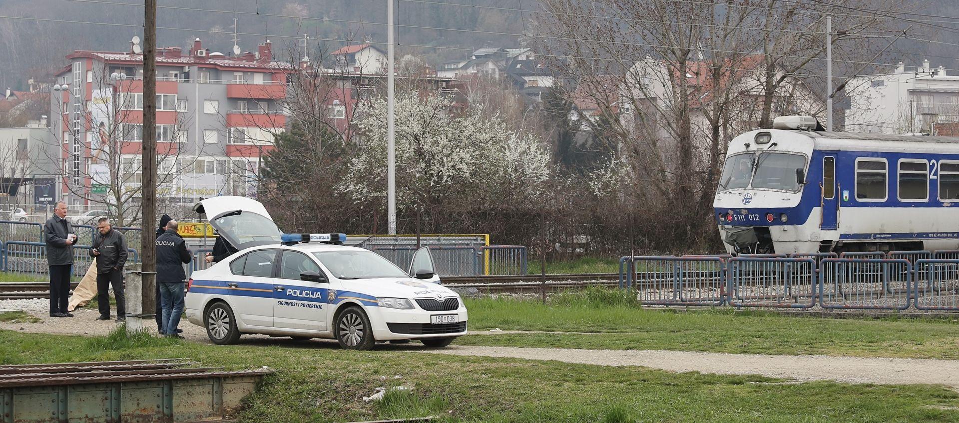 NESREĆA NA ORANICAMA Vlak usmrtio još nepoznatu osobu, policija provodi očevid