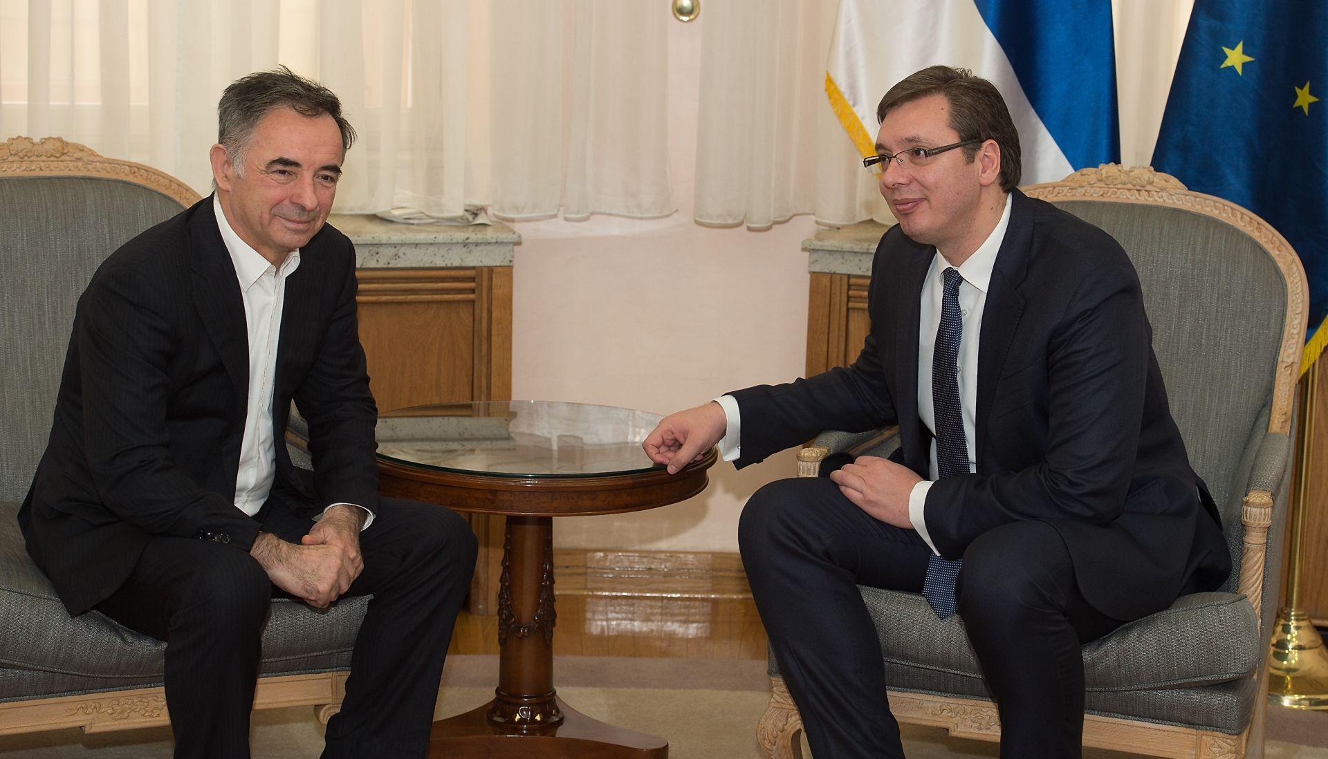 Vučić i Pupovac u Beogradu razgovarali o položaju Srba u Hrvatskoj