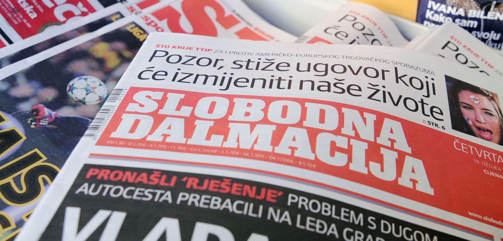 Hanfa naložila upravi Slobodne Dalmacije da izmijeni mišljenje o Hanžekovićovoj ponudi