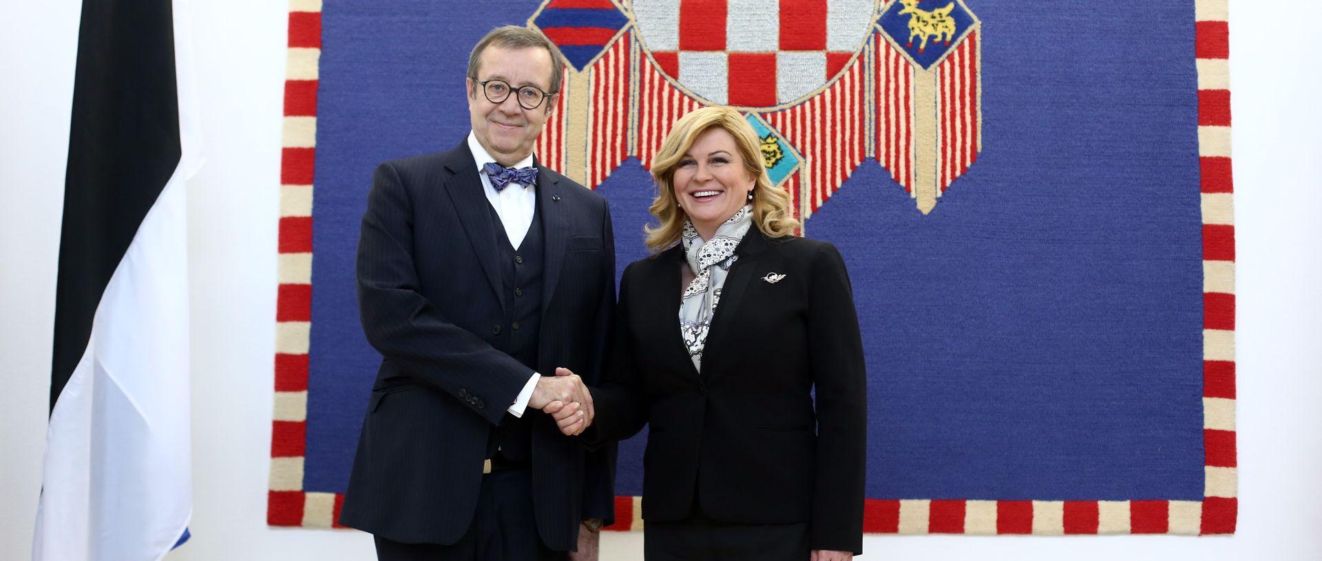 TOOMAS HENDRIK ILVES Estonija podržava ulazak Hrvatske u schengensku zonu