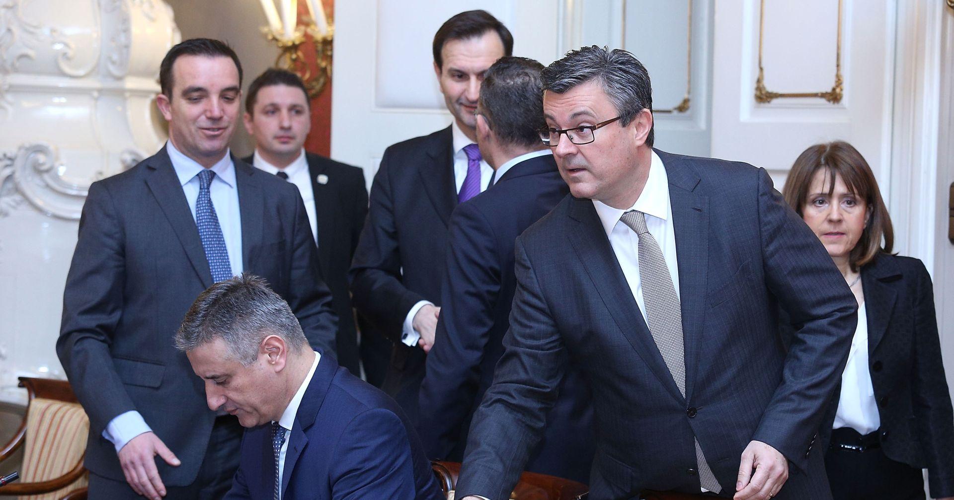 SJEDNICA VLADE Izmjene Zakona o nadzoru granice i Zakona o obrani – hrvatska vojska može na granice