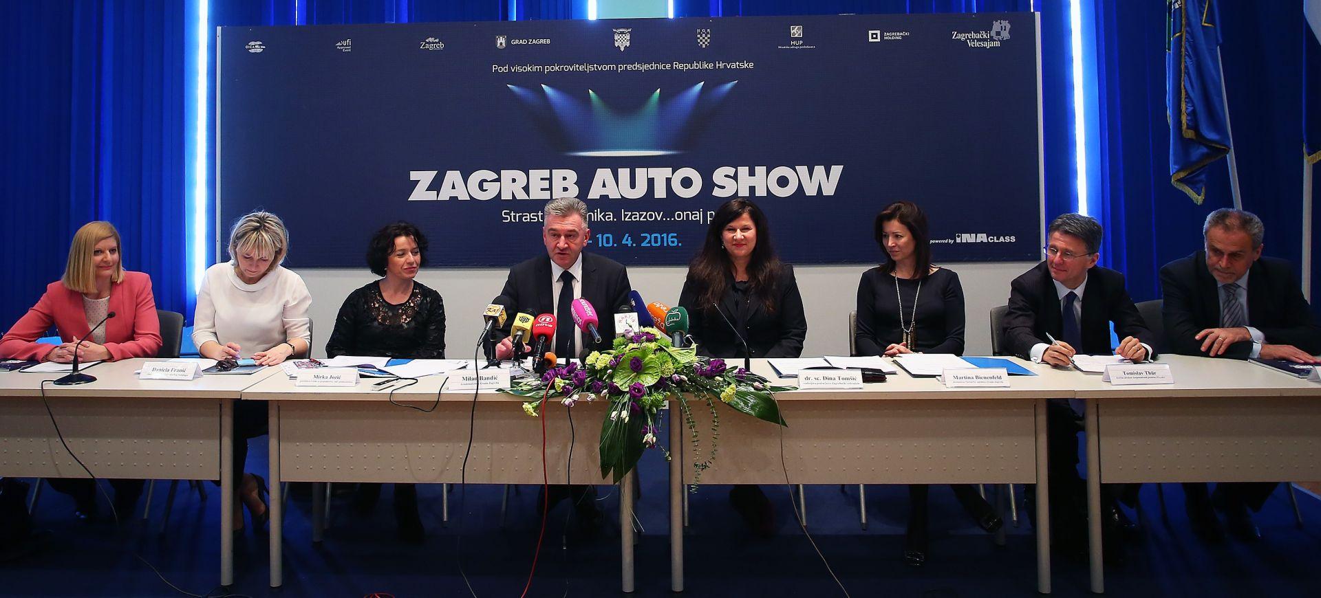 EUROPSKI EVENT Zagreb Auto Show okuplja 440 izlagača i očekuje oko 120 tisuća posjetitelja