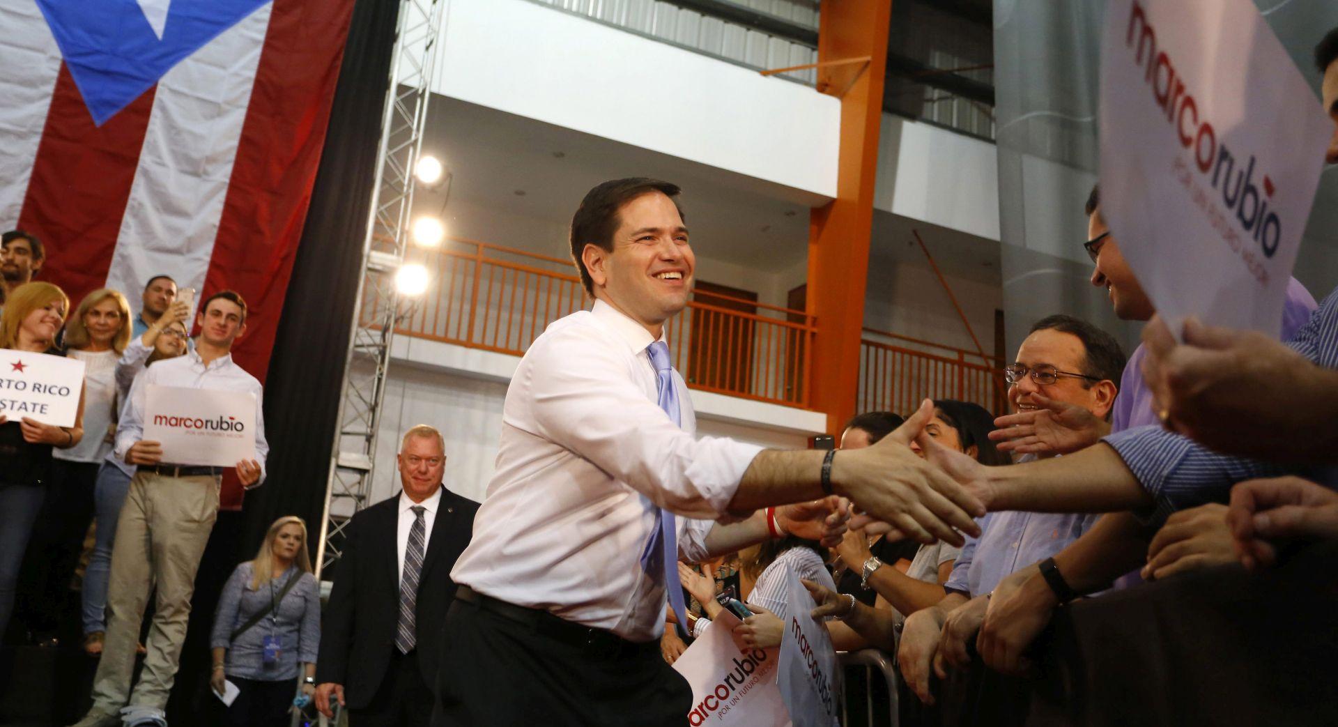 UVJERLJIVO VODSTVO: Rubio ojačao poziciju pobjedom u Portoriku