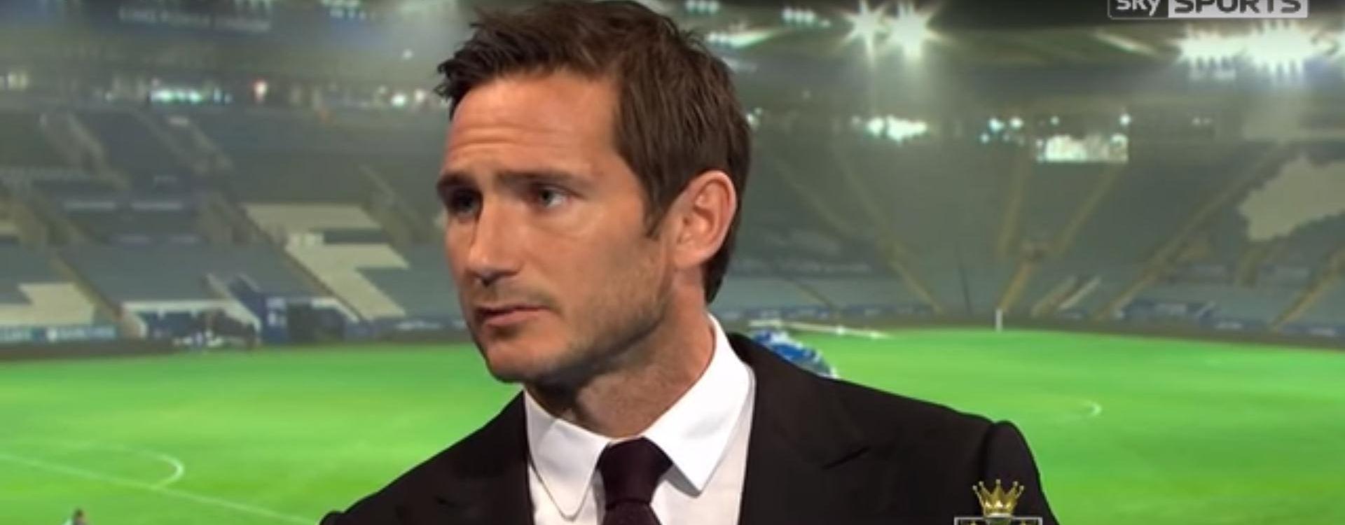 """FRANK LAMPARD """"Sve dugujuem Ranieriju. Leicester je na pragu nečeg fantastičnog"""""""