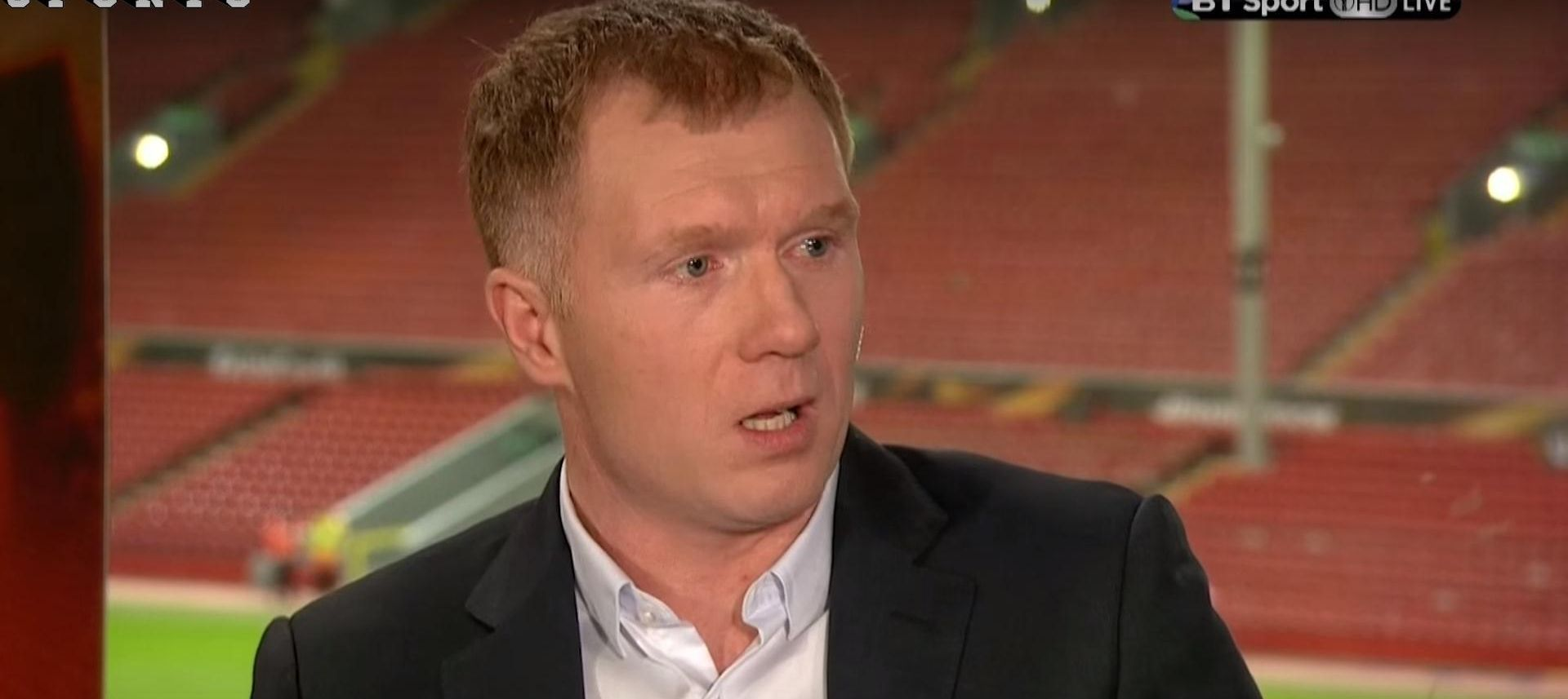 SCHOLES OPET 'UDARA' United se ne smije zadovoljavati četvrtim mjestom, to radi Arsenal svake godine