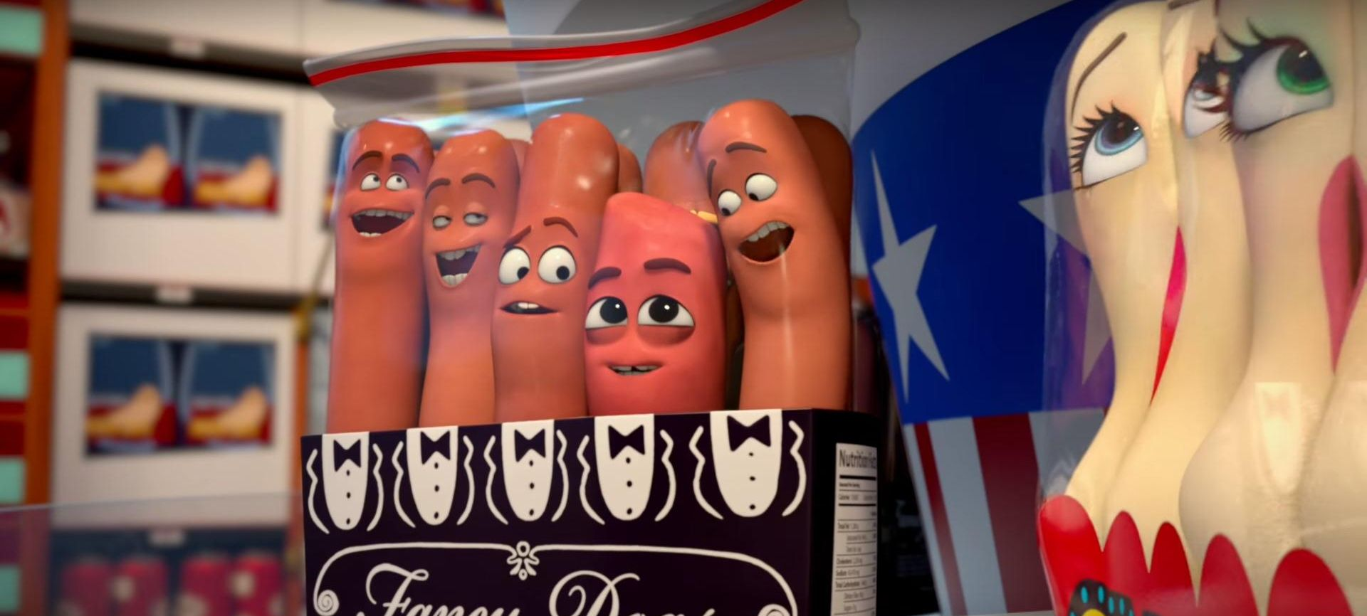 VIDEO: Najave za animirani film 'Sausage party'