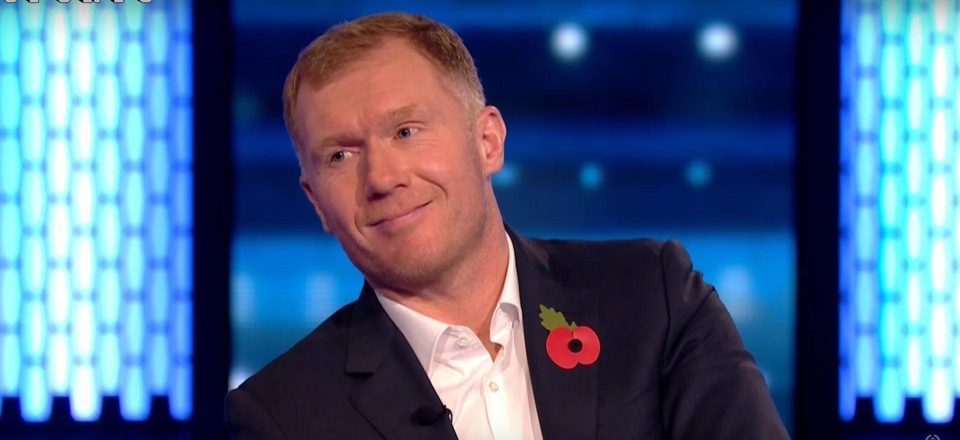 """SCHOLES """"United nema identitet, Liverpool je večeras favorit"""""""