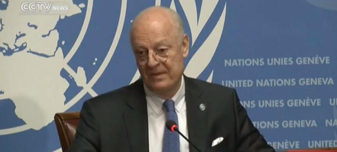 VIDEO: Staffan de Mistura naglasio kako u Siriji mora doći do političke tranzicije