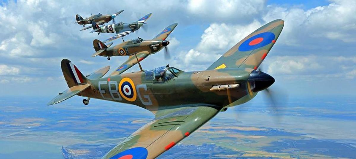 VIDEO: Osamdeseta godišnjica vojnog zrakoplova Spitfire