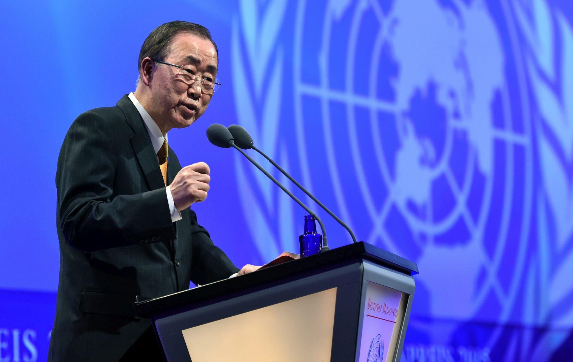 POZIV NA MIROVNE RAZGOVORE: Ban Ki-moona duboko zabrinjava nasilje u Siriji