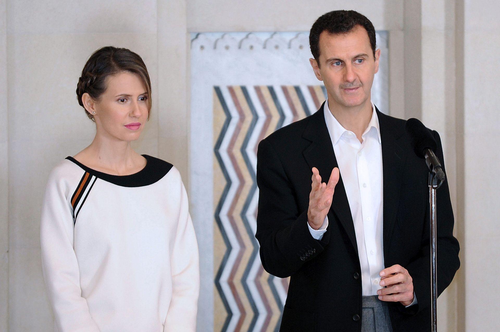 RAK DOJKE Prva dama Sirije podvrgnuta prvoj kemoterapiji