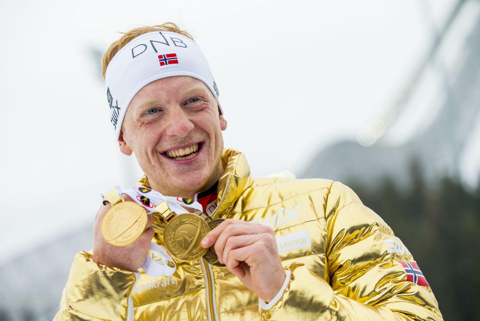 SP biatlon: Slavlje Norvežana Johannesa Thingnesa Boea za kraj