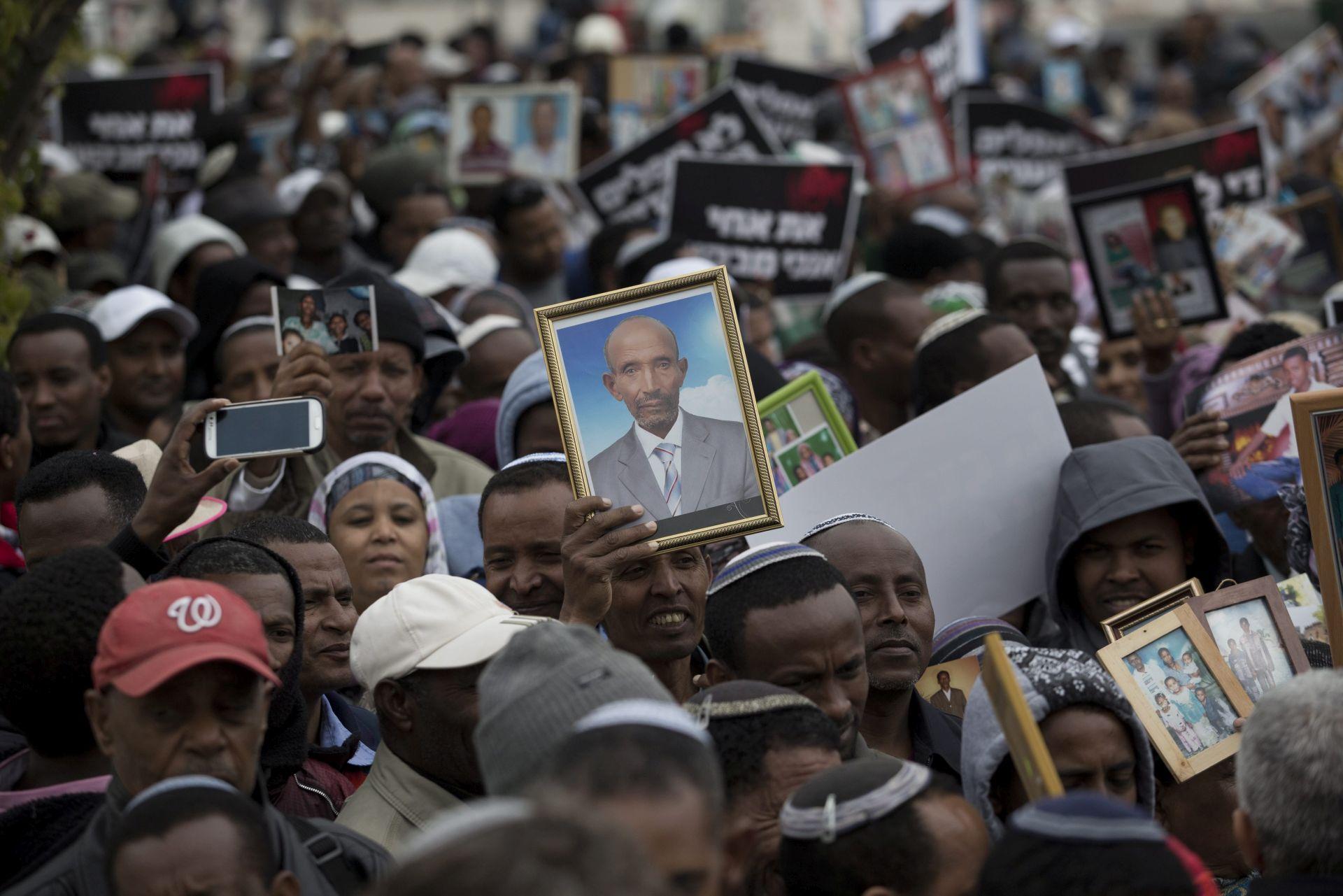 Izrael: Prosvjed etiopskih židova nakon otkazivanja plana obiteljskog okupljanja