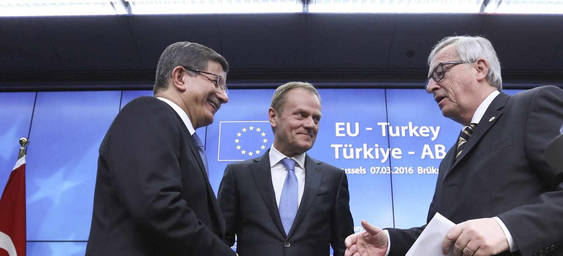 PREGOVARA SE O POJEDINOSTIMA: EU definirao načela za dogovor s Turskom