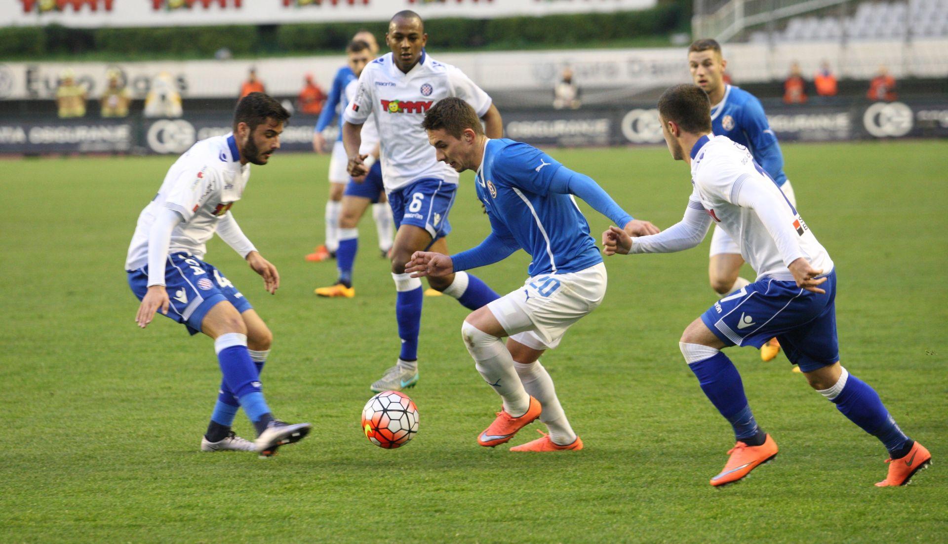 Kup: Hajduk – Dinamo 0-2 (poluvrijeme)