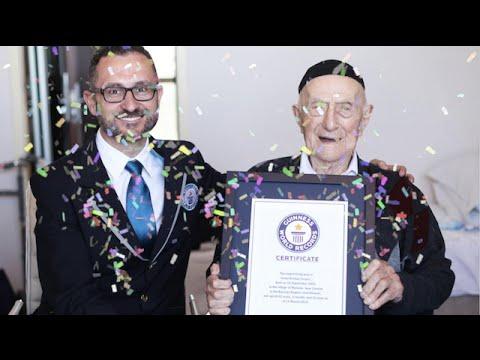 VIDEO: PREŽIVIO AUSCHWITZ Yisrael Kristal najstariji muškarac na svijetu
