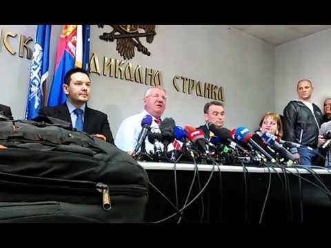 """VIDEO: ŠEŠELJ """"Mogli su mi dati barem nešto, da ne bijesne srpski neprijatelji"""""""