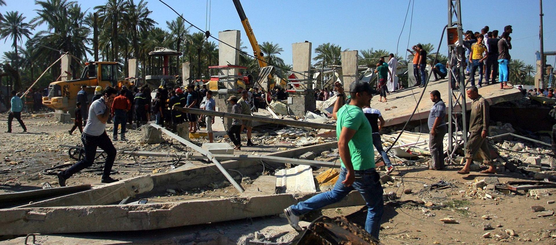 Irak: U samoubilačkom atentatu kamionom-bombom 47 mrtvih i 72 ranjenih