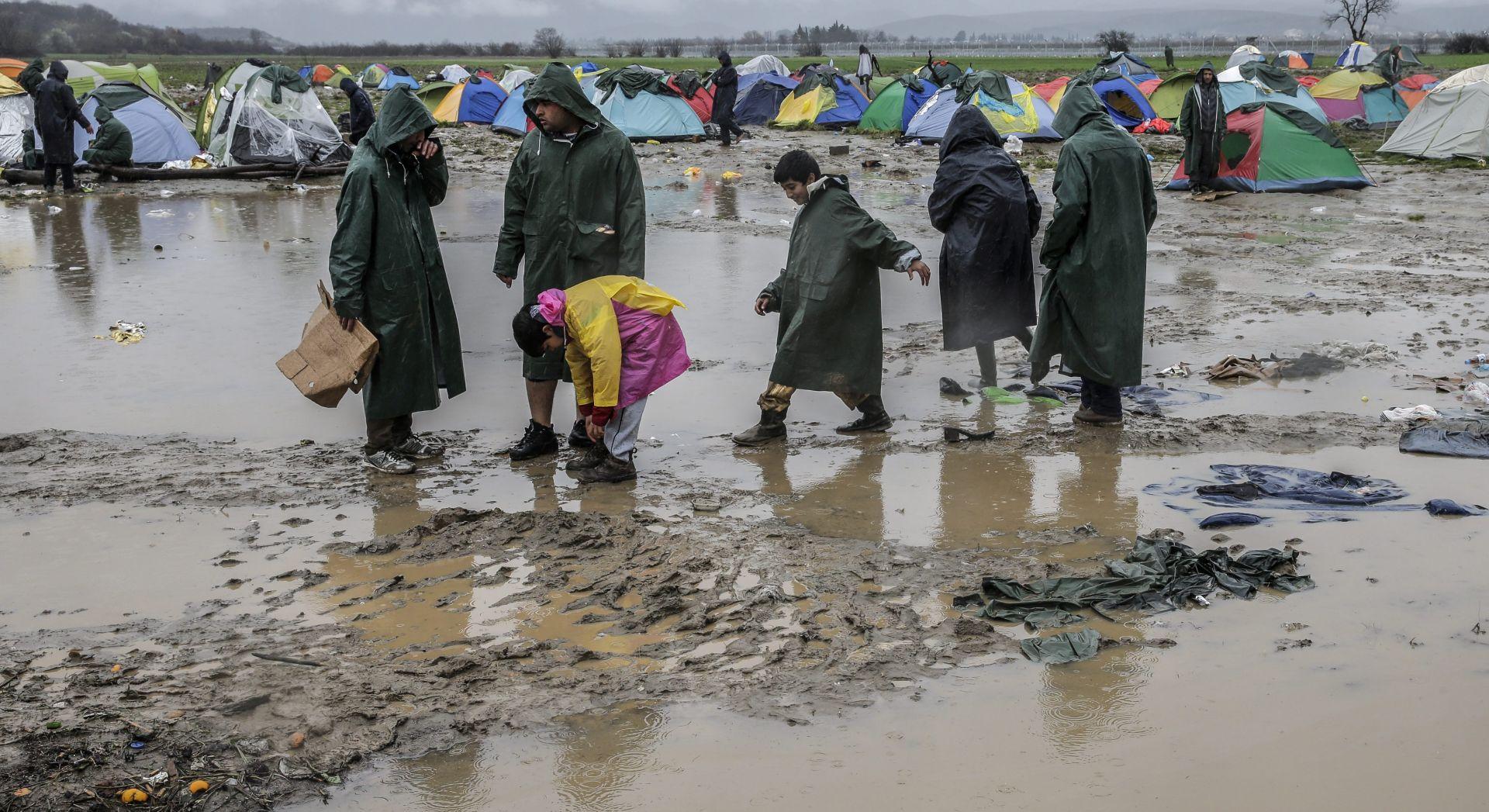 GRČKO-MAKEDONSKA GRANICA: Sve kritičnije zdravstveno stanje izbjeglica u Idomeni
