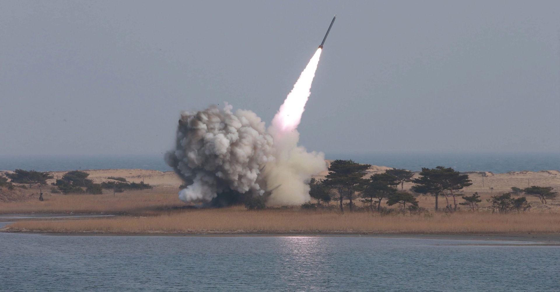 NAPETOST NA POLUOTOKU: Sjeverna Koreja ispalila u more nove rakete kratkog dometa