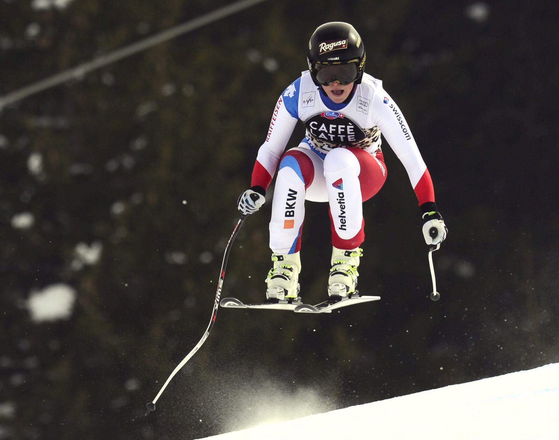 Superveleslalom Sankt Moritz: Lara Gut osvojila mali Globus