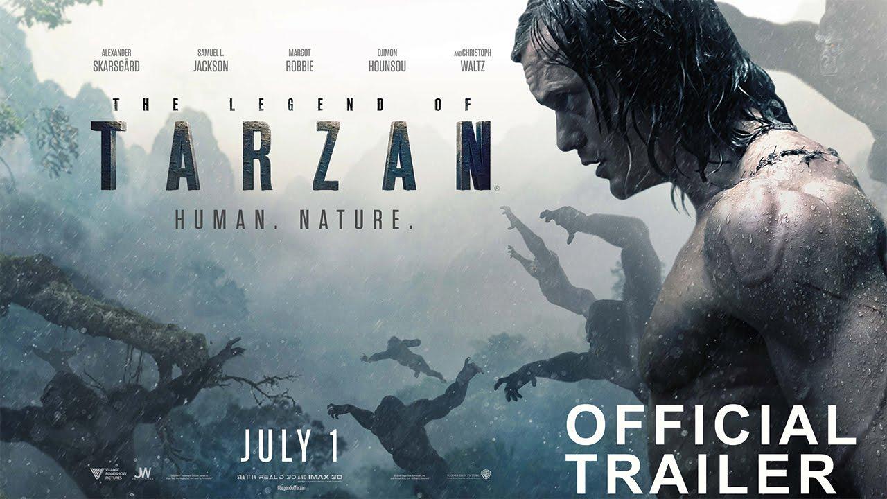 VIDEO: Pogledajte Alexandera Skarsgårda kao novog Tarzana i Margot Robbie kao Jane