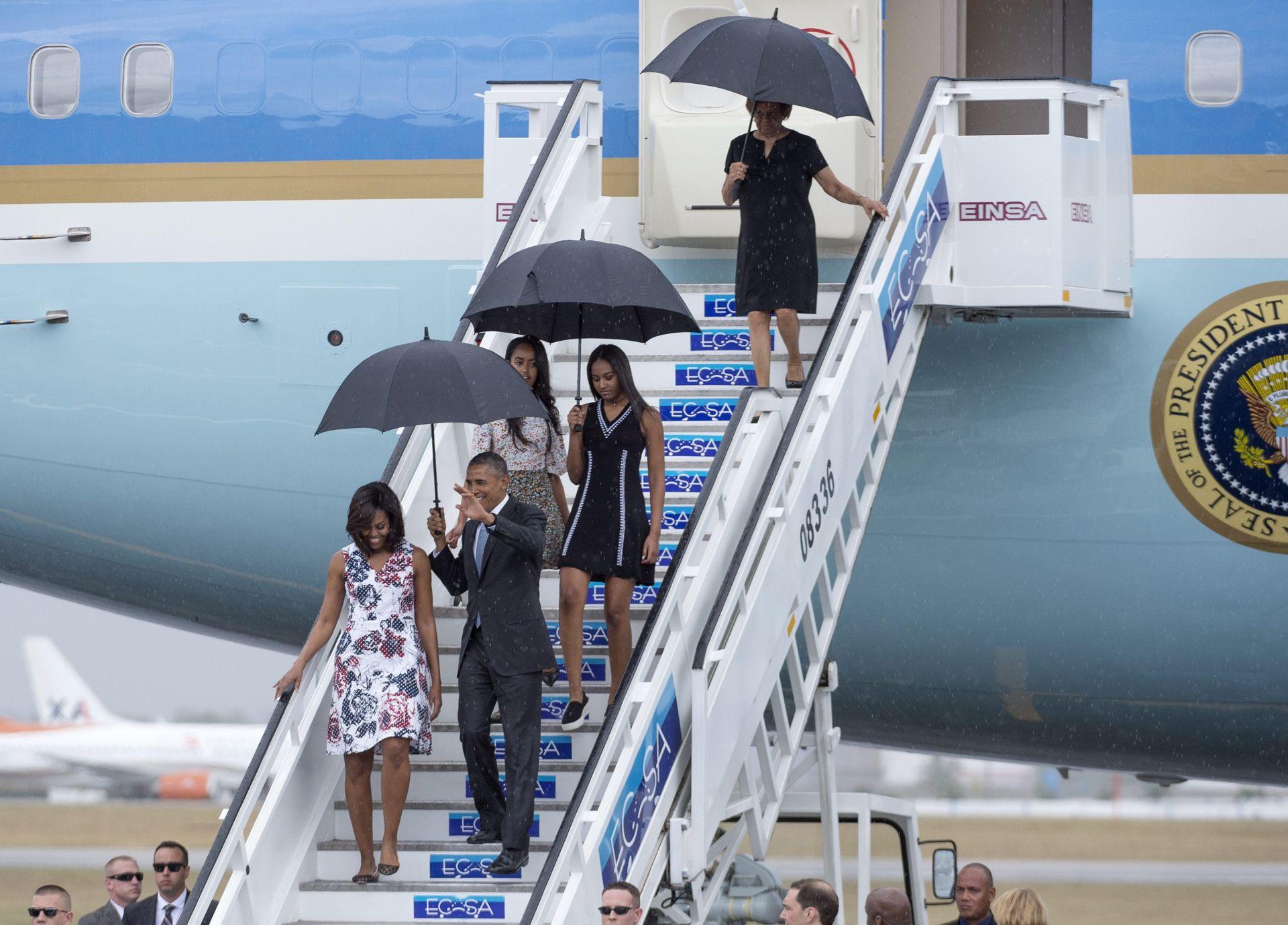 POVIJESNI POSJET: Barack Obama stigao na Kubu