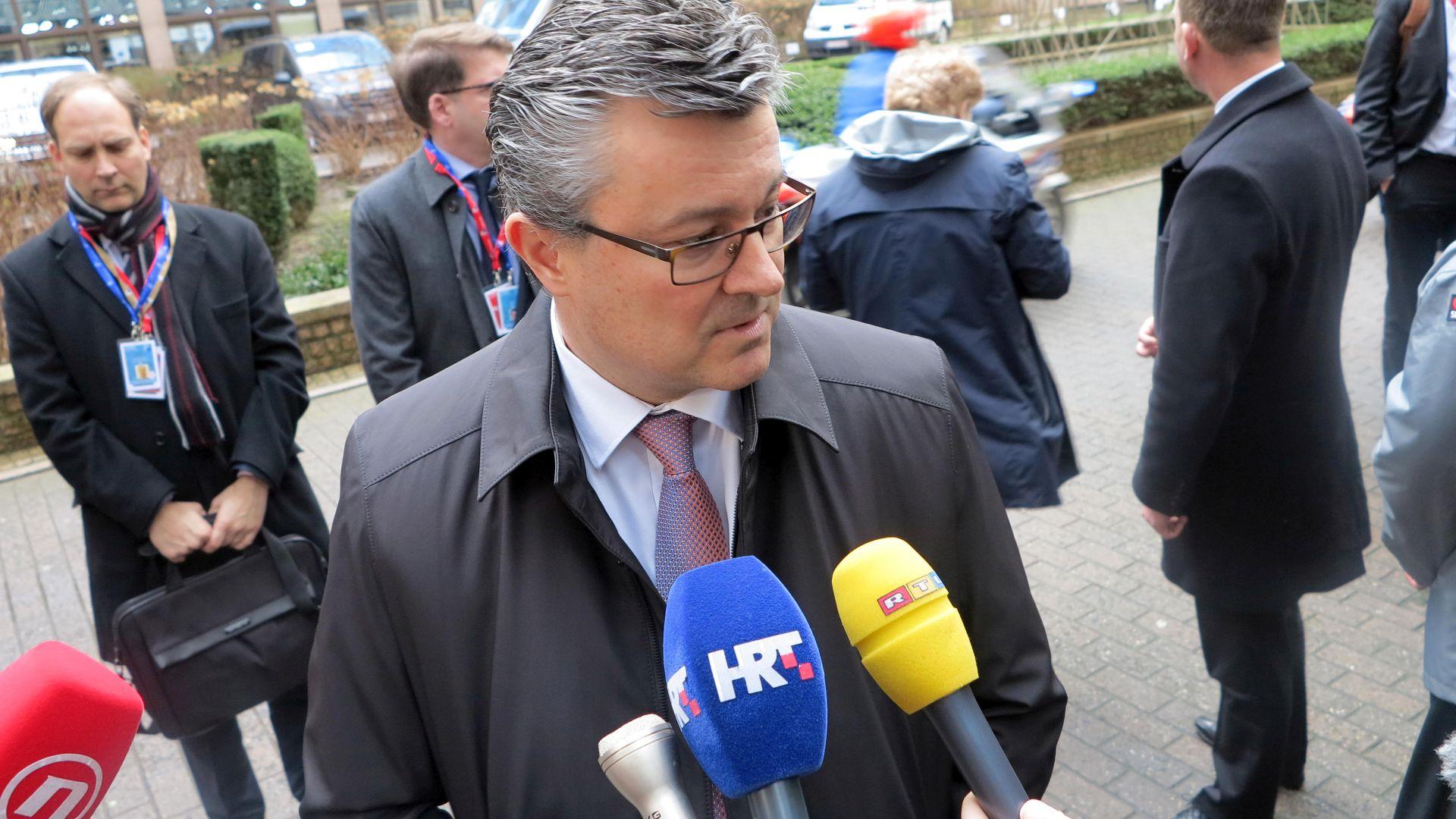 Orešković: Glavna poruka sastanka s Turskom trebala bi biti zatvaranje zapadnobalkanske rute