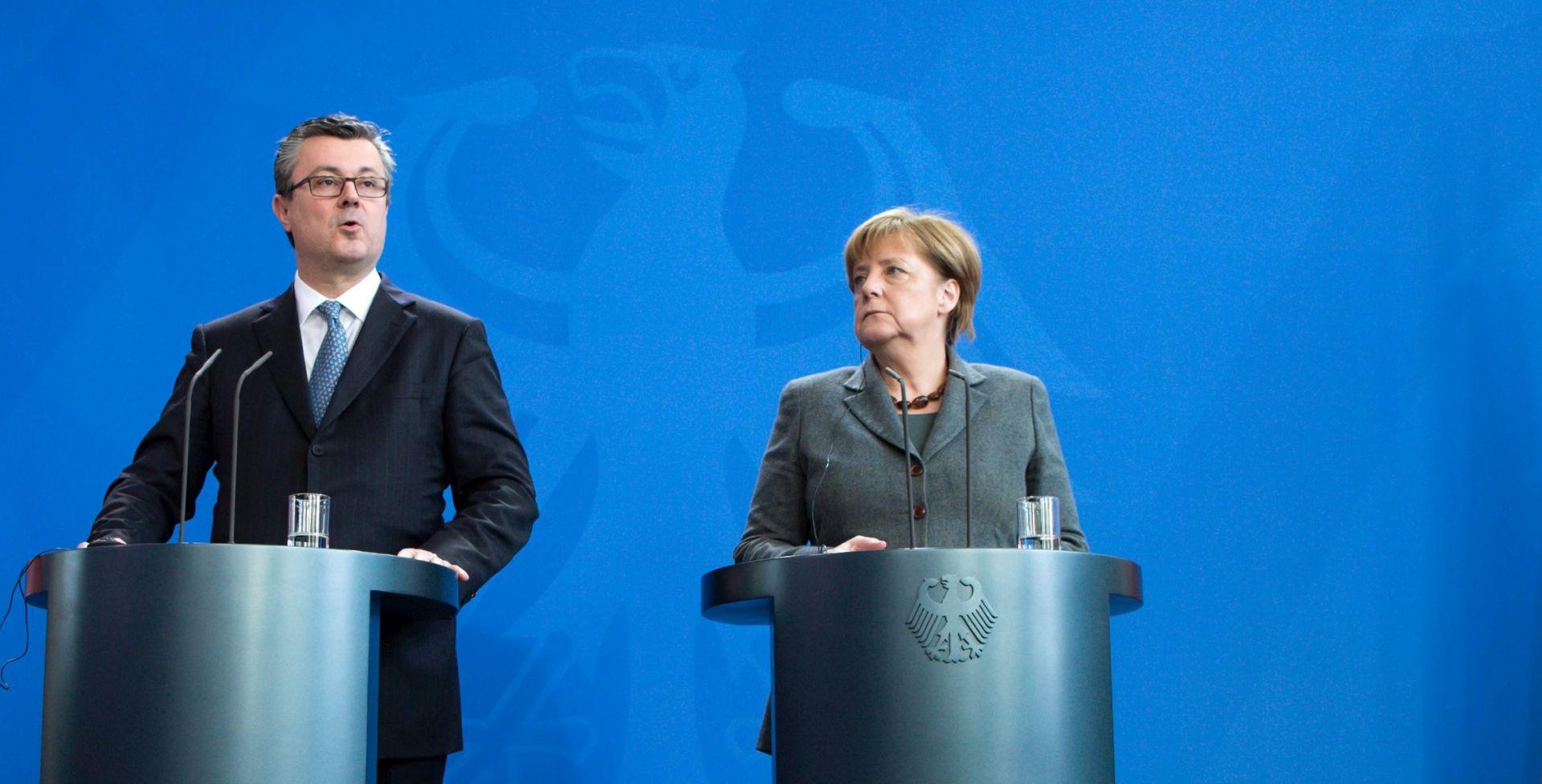 Merkel razgovara s čelnicima EU-a, Orešković u subotu u Njemačkoj