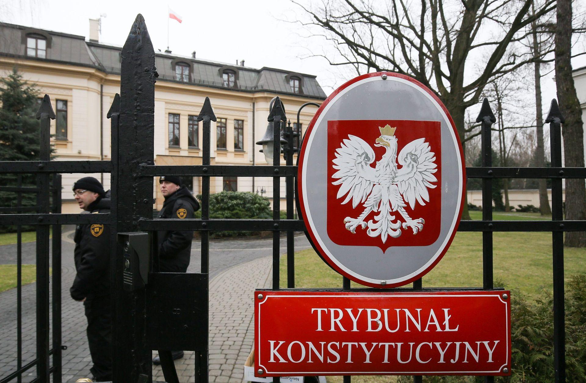Poljski ustavni sud: Odbačene odredbe zakona o njegovu radu