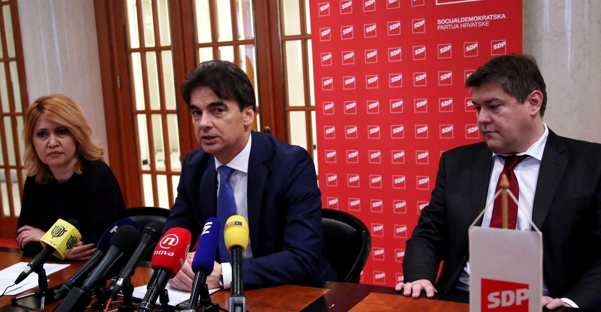SDP: U proračunu nema reformskih zahvata