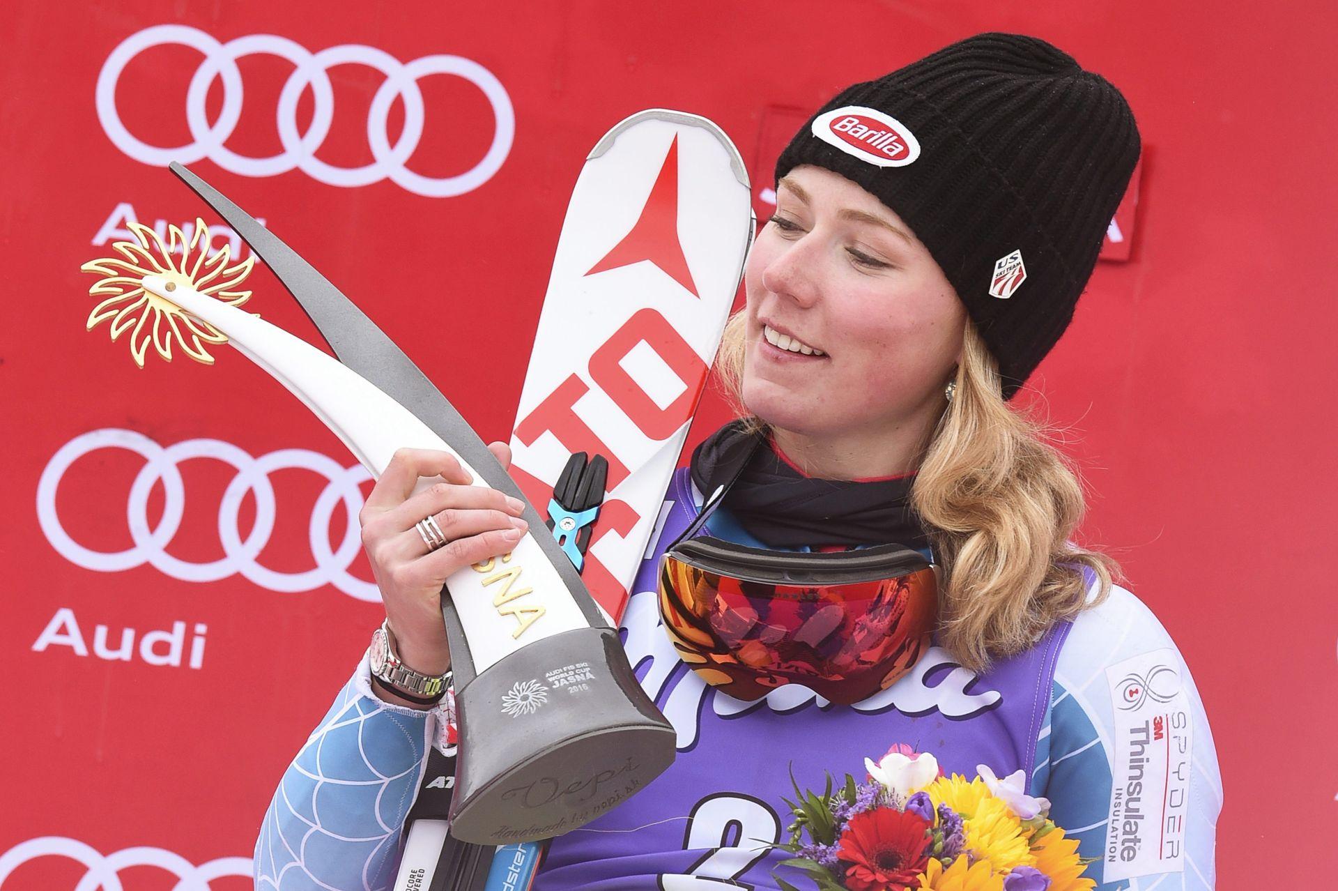 Sankt Moritz: Shiffrin pobijedila u zadnjem slalomu