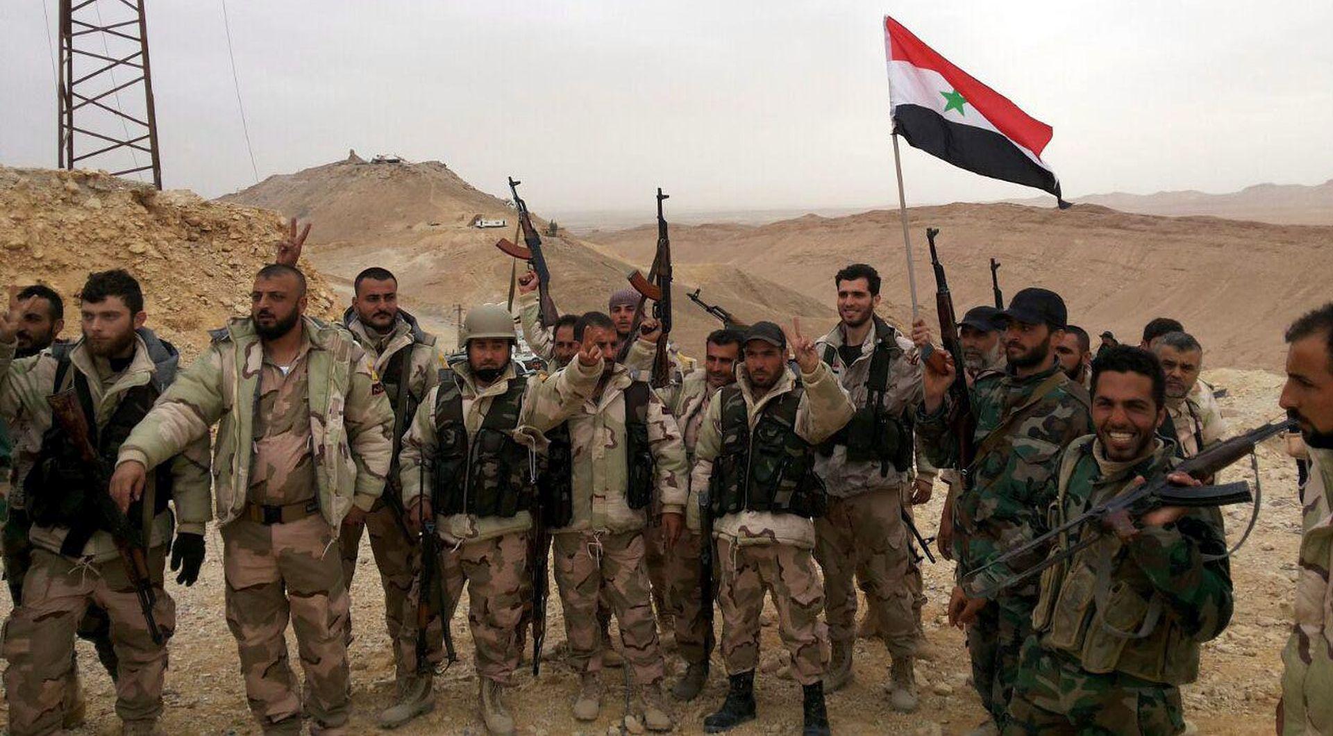 PROTJERANI DŽIHADISTI: Sirijski režim preuzeo punu kontrolu nad antičkom Palmirom