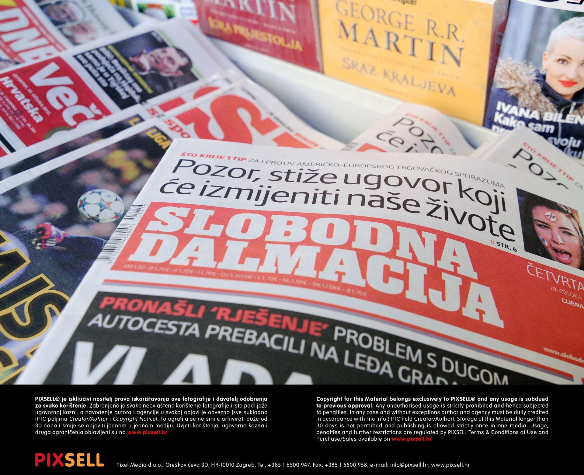 Za 16,5 kuna po dionici: Hanfa odobrila Hanžekoviću ponudu za Slobodnu Dalmaciju