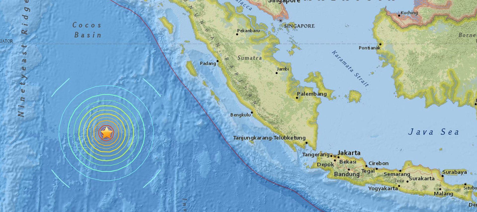 UZBUNA NA TSUNAMI: Potres magnitude 7,9 potresao Sumatru
