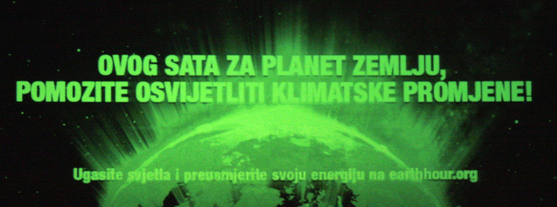 SAT ZA PLANET ZEMLJU: 68 hrvatskih gradova danas gasi svijetla