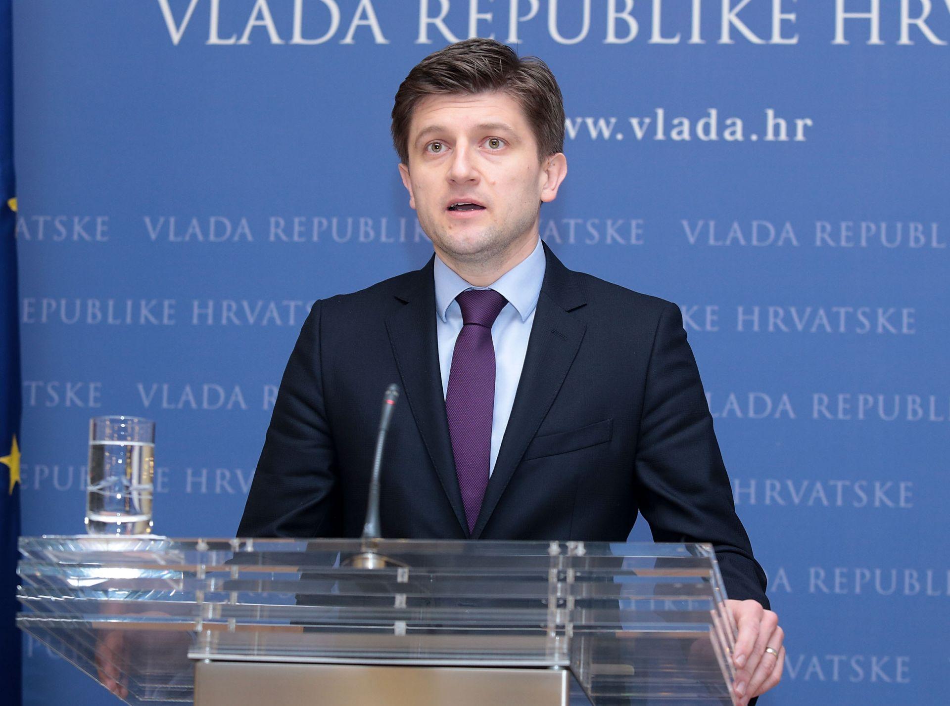 Ministar Marić očekuje izglasavanje proračuna u Hrvatskom saboru