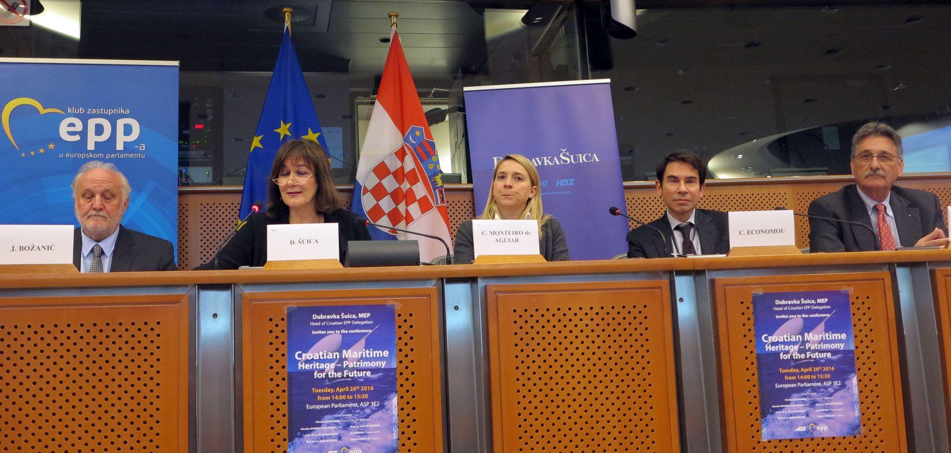 EUROPSKI PARLAMENT: Konferencija o hrvatskoj pomorskoj baštini