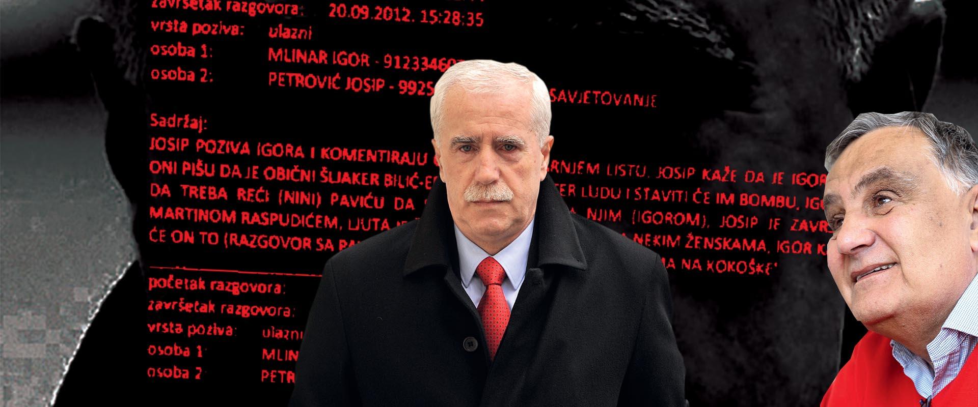 EKSKLUZIVNO: Policijski transkripti tajno snimanih telefonskih razgovora Josipa Petrovića