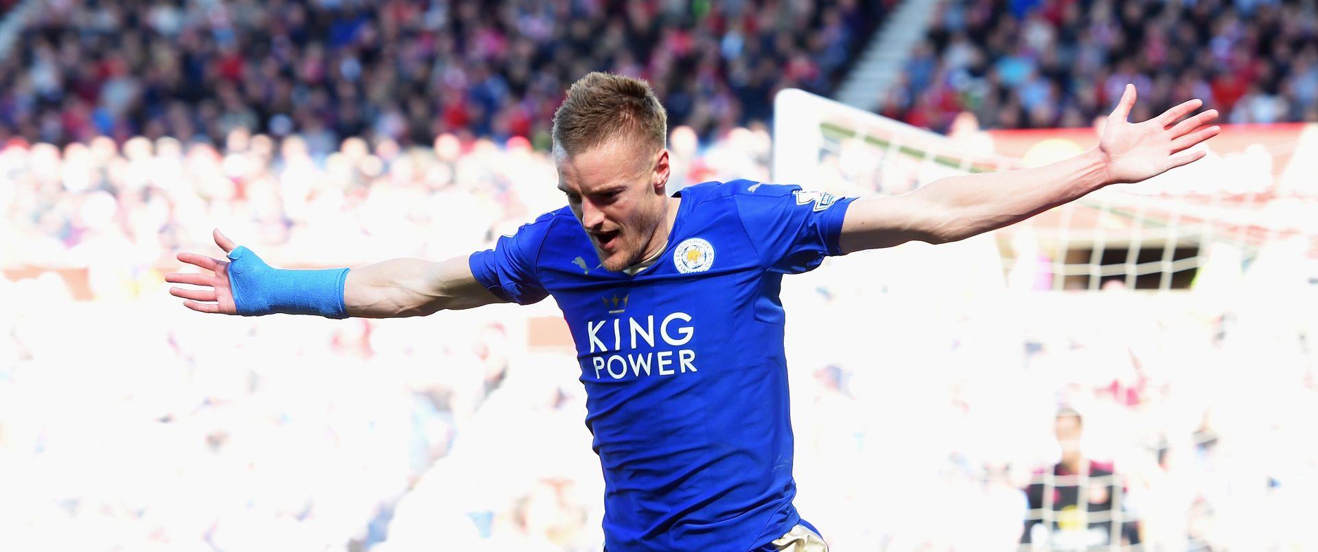 PRVAK 'RAZBIO' CITY Hat-trick Jamieja Vardyja u velikom slavlju Leicestera