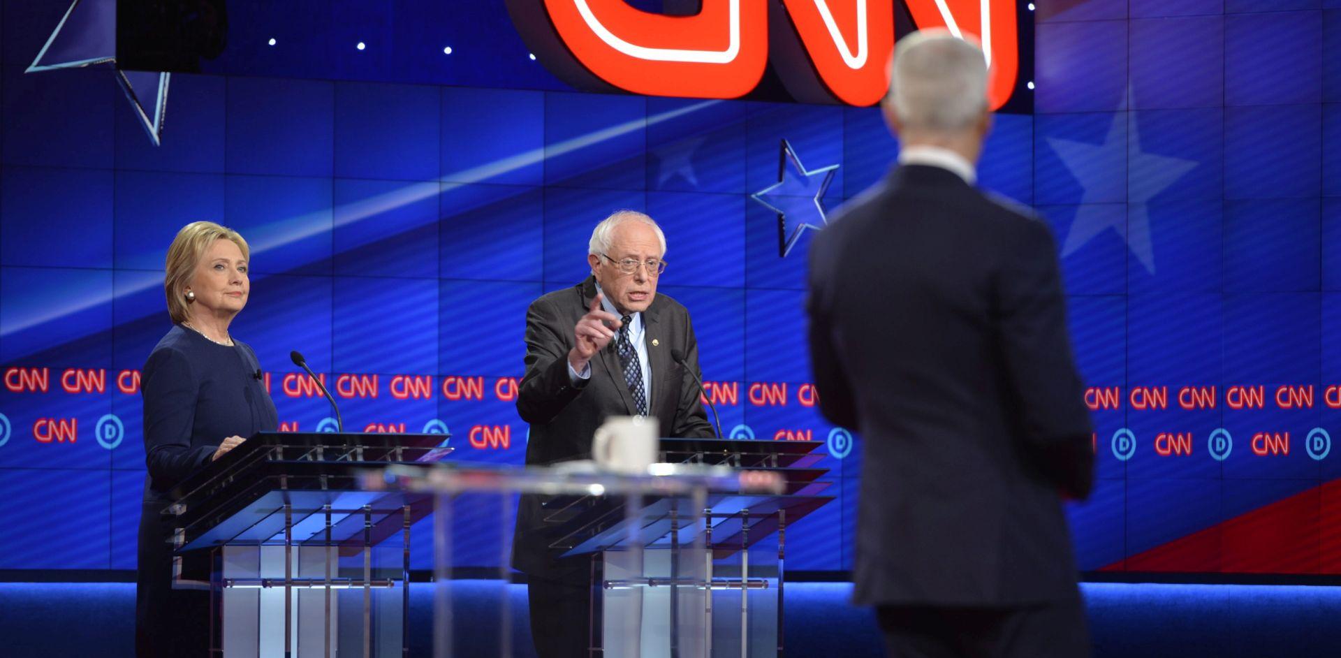 PREDSJEDNIČKI IZBORI U SAD-U Clinton i Sanders dogovorili televizijsko sučeljavanje 14. travnja