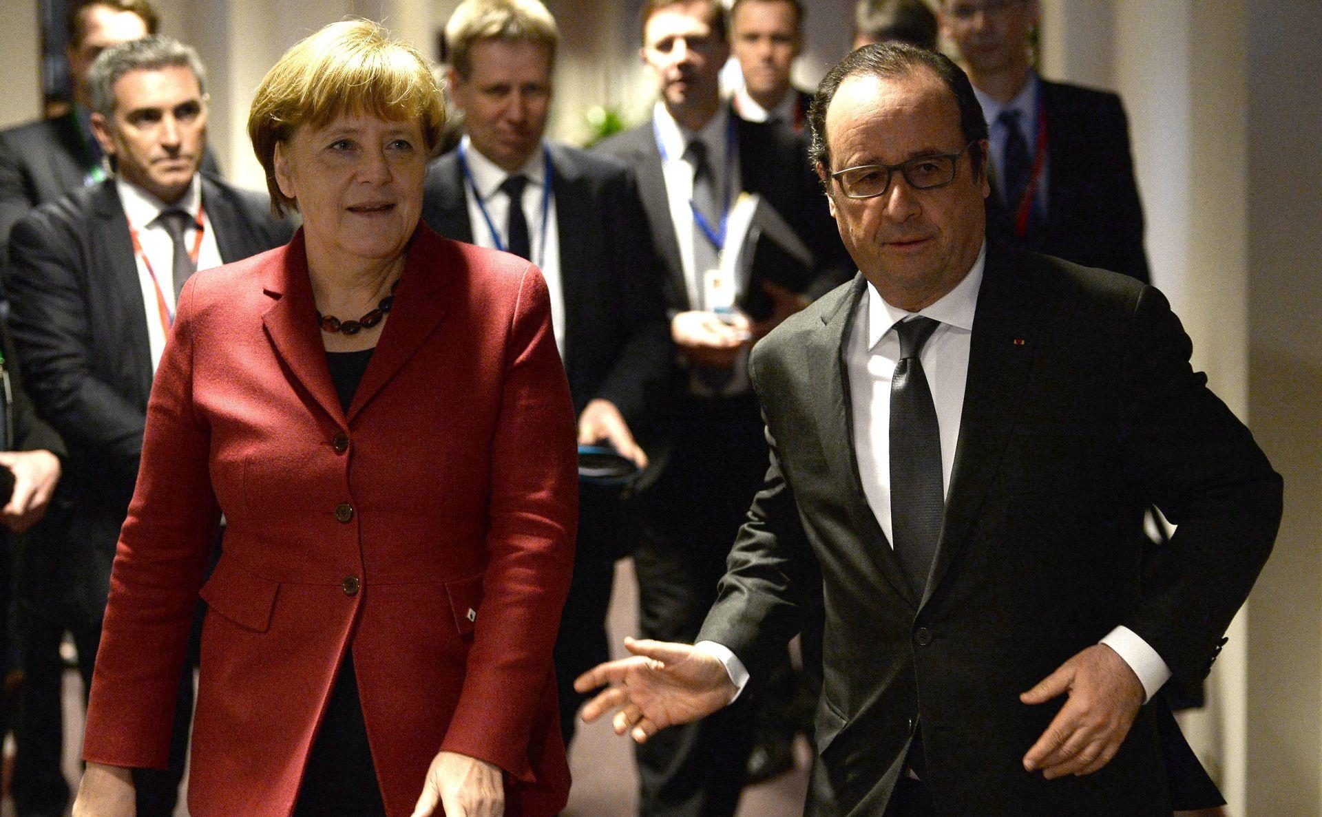 Hollande i Merkel razgovarat će o izbjegličkoj krizi i terorizmu