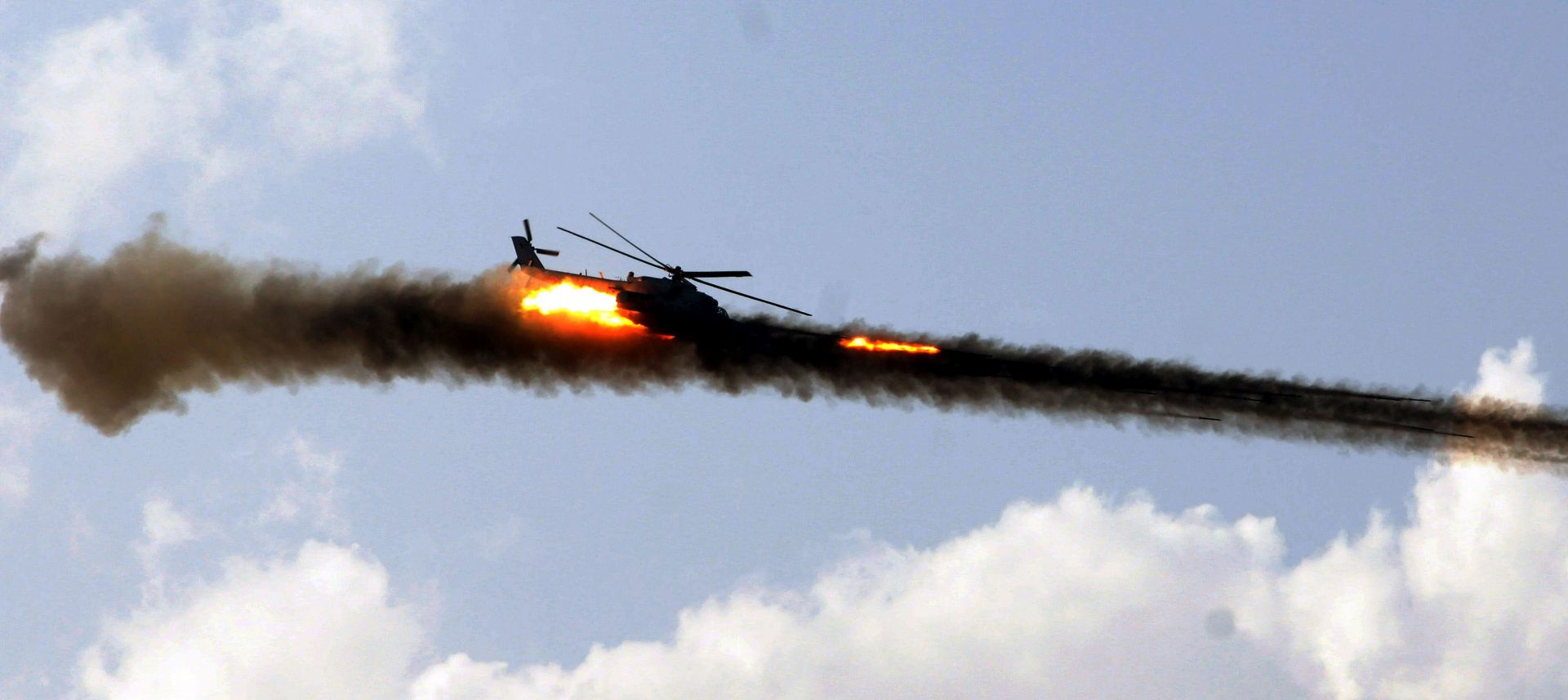 SIRIJA U padu ruskog helikoptera poginula dvojica pilota