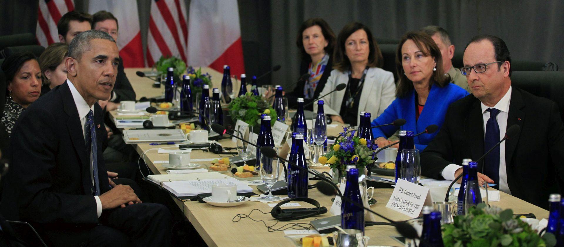 Obama i Hollande odlučni u borbi protiv Islamske države