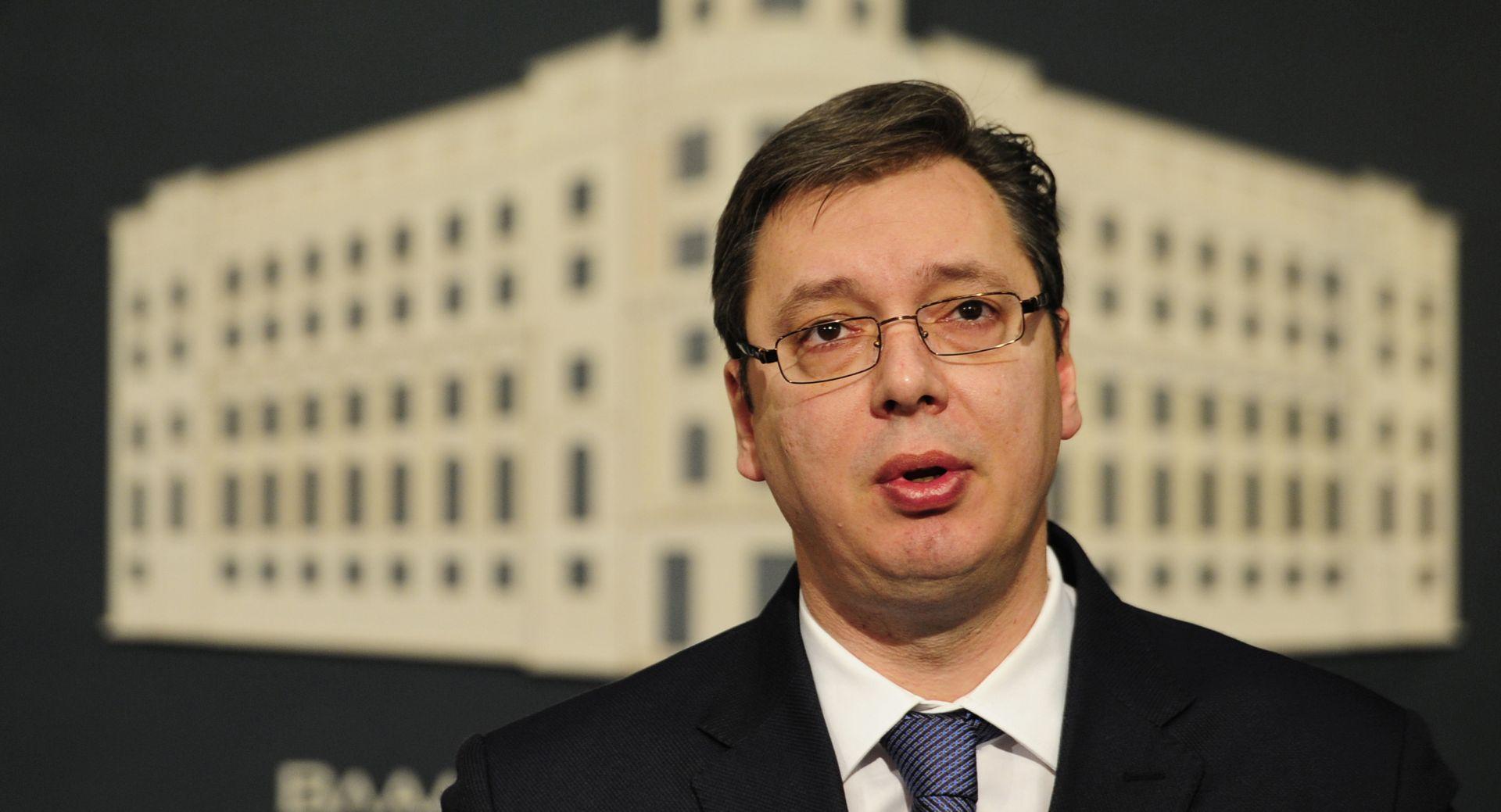 """HRVATSKA NIJE DALA SUGLASNOST ZA OTVARANJE POGLAVLJA 23 Vučić: """"Nećemo dozvoliti da nas Hrtvatska ucjenjuje"""""""