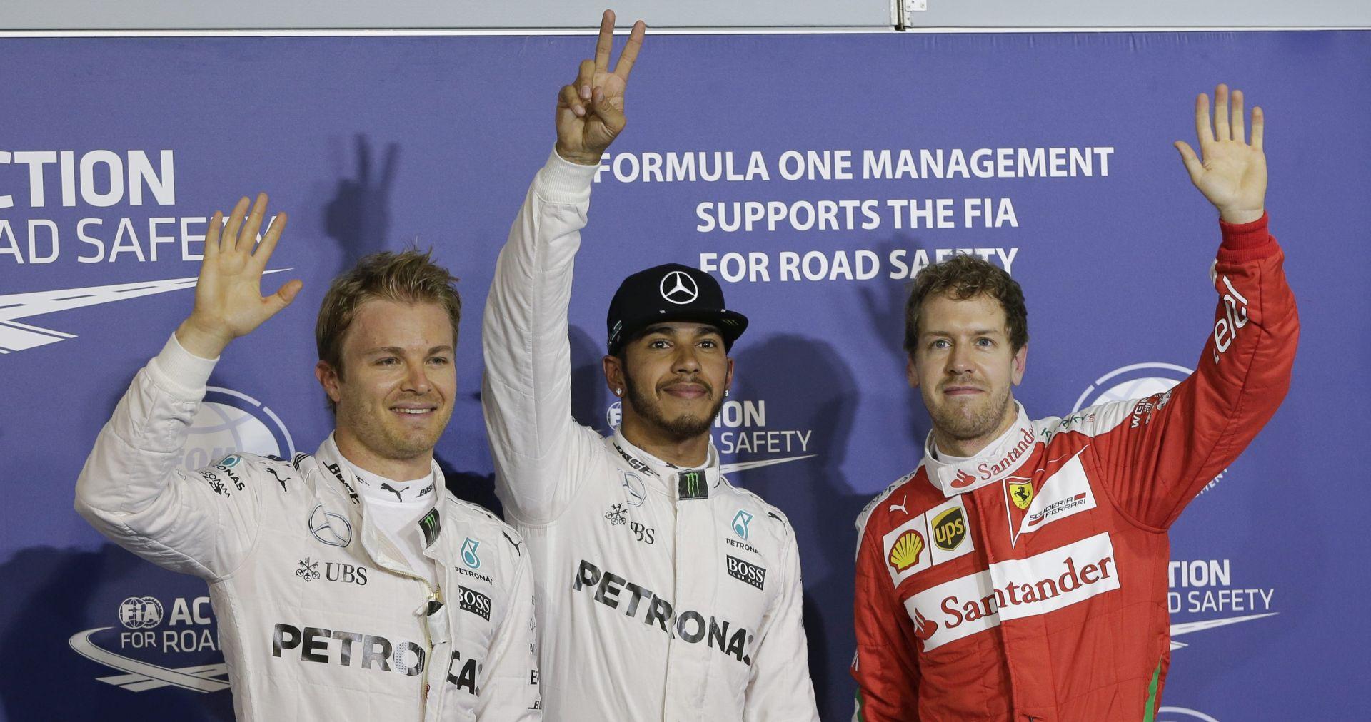 VELIKA NAGRADA BAHREINA Lewis Hamiltonu pole position