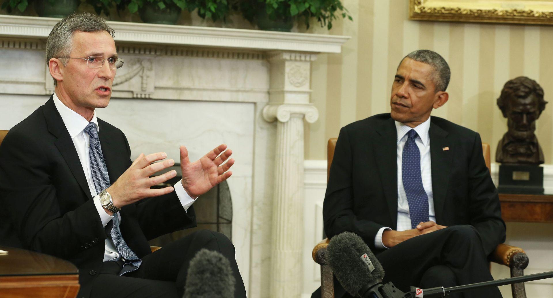 Obama i glavni tajnik NATO-a Jens Stoltenberg o IS-u, Libiji
